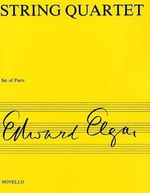 String quartet op. 83 - Parts ELGAR Partition Quatuors - laflutedepan