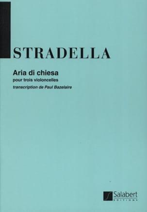 Aria di Chiesa - 3 Cellos Alessandro Stradella Partition laflutedepan
