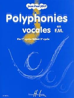 Polyphonies vocales en FM Jean-Paul Joly Partition laflutedepan