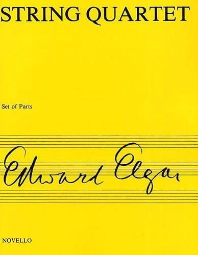 String quartet op. 83 - Parts - ELGAR - Partition - laflutedepan.com