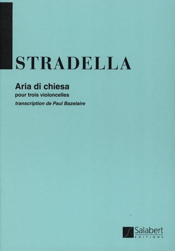 Aria di Chiesa - 3 Cellos - Alessandro Stradella - laflutedepan.com