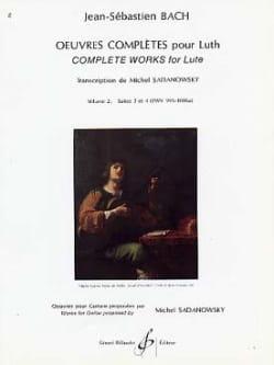 Oeuvres complètes pour luth - Volume 2 : Suites n° 3 et4 laflutedepan
