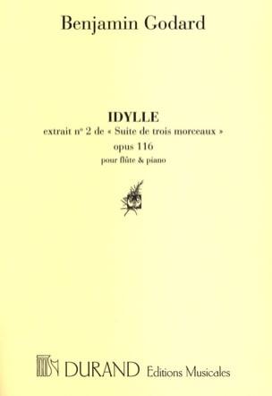 Idylle Benjamin Godard Partition Flûte traversière - laflutedepan