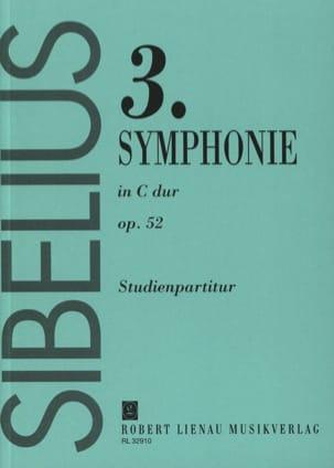 Symphonie n° 3 do M. op. 52 - Conducteur SIBELIUS laflutedepan