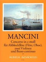 Concerto in c-moll -Altblockflöte 2 Violinen BC laflutedepan