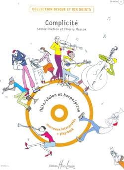 Complicité - Chefson Sabine / Masson Thierry - laflutedepan.com