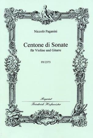 Centone Di Sonate PAGANINI Partition 0 - laflutedepan
