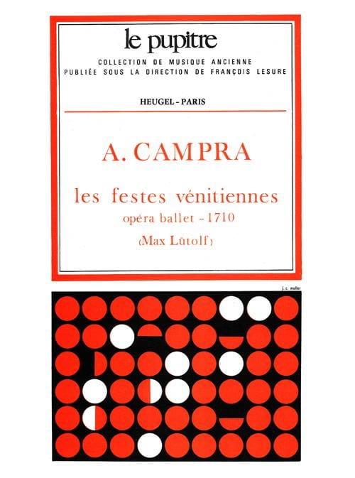 Les Festes Venitiennes - Campra André / Lutolf - laflutedepan.com