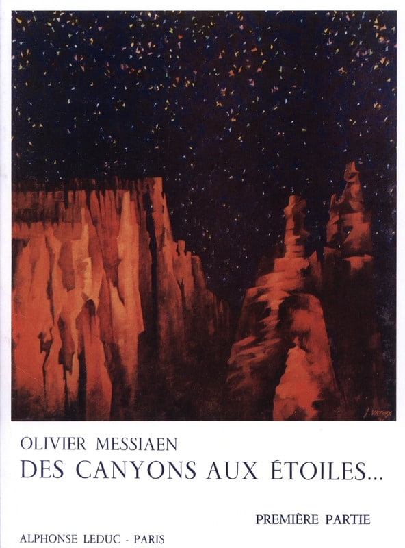 Des Canyons aux Etoiles - Partie 1 - MESSIAEN - laflutedepan.com