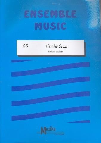 Cradle Song -Ensemble - Mischa Hauser - Partition - laflutedepan.com