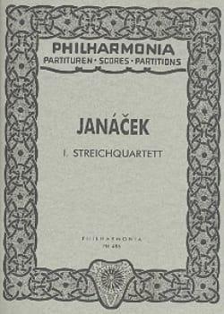 Streichquartett Nr. 1 - Partitur JANACEK Partition laflutedepan
