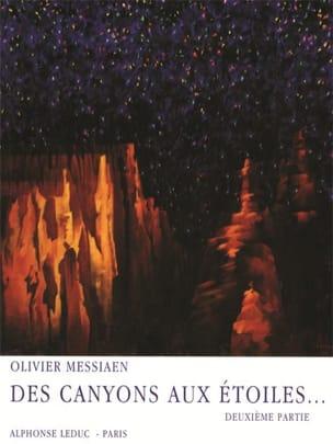 Des Canyons Aux Etoiles - Partie 2 MESSIAEN Partition laflutedepan