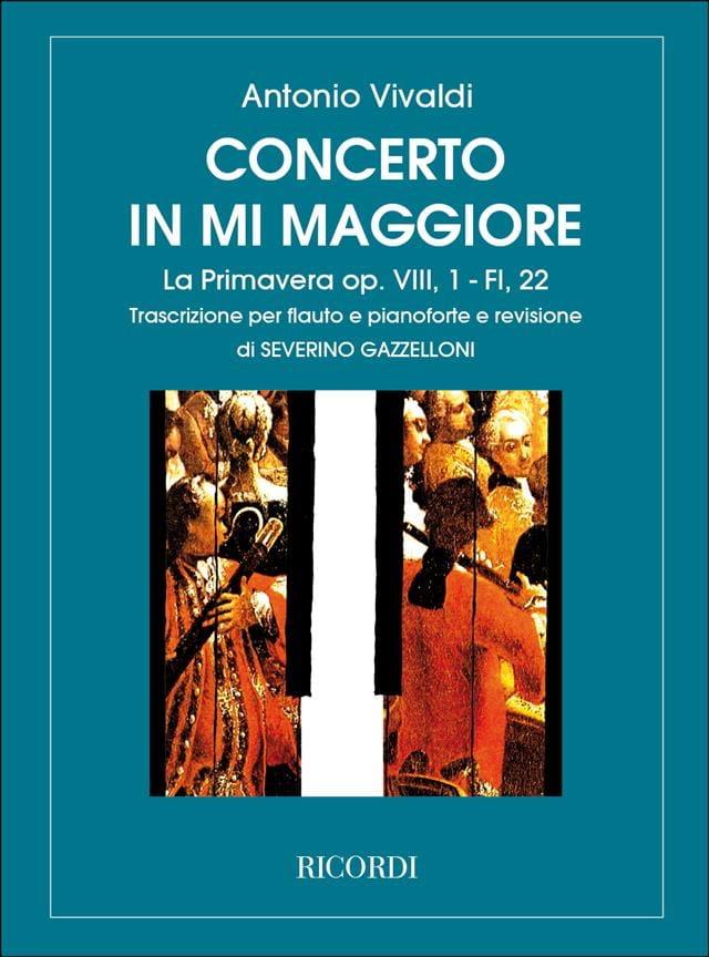 Concerto en Mi Maj. La Primavera op. 8 n° 1 - Flauto pianoforte - laflutedepan.com