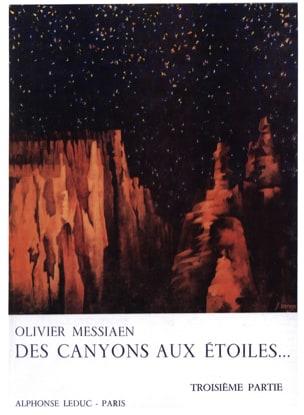 Des Canyons aux Etoiles - Partie 3 MESSIAEN Partition laflutedepan