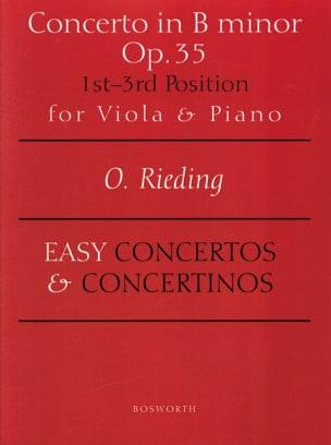 Concerto op. 35 en si mineur - Alto Oskar Rieding laflutedepan