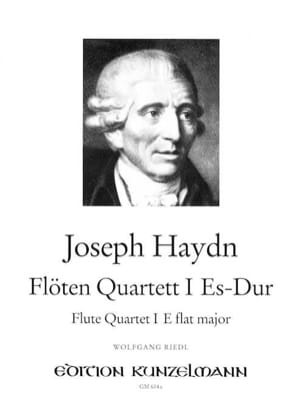 Flötenquartett Nr. 1 Es-Dur -Flöte Violine Viola Cello laflutedepan
