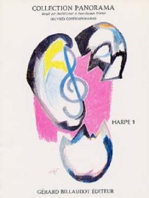 Panorama Harpe - Volume 1 - Partition - Harpe - laflutedepan.com