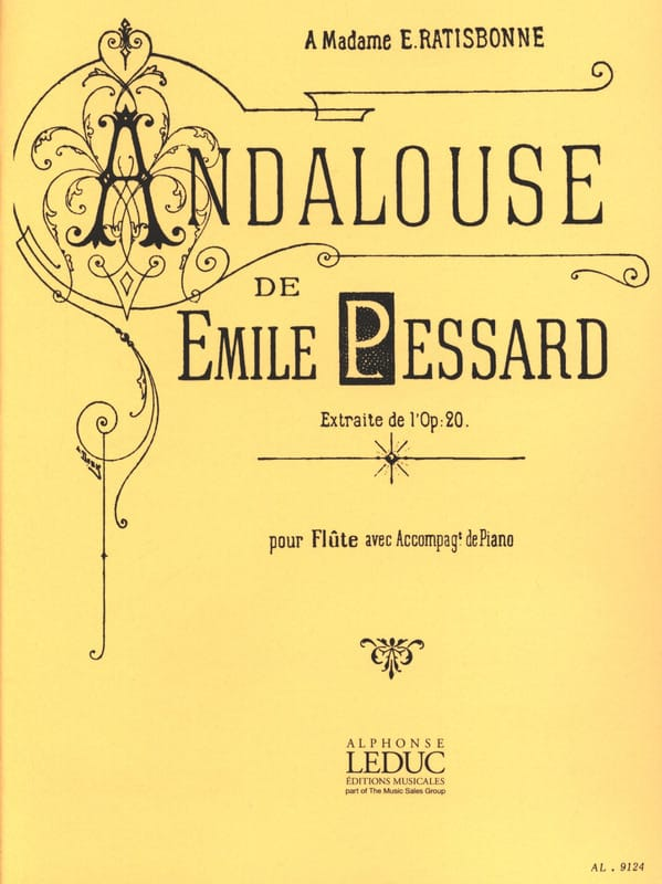 Andalouse extr. op. 20 - Flûte piano - laflutedepan.com