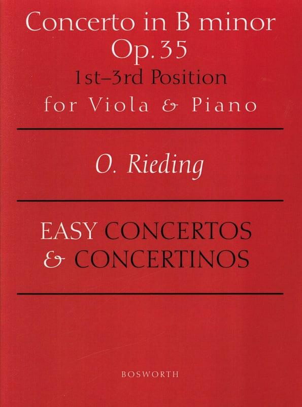 Concerto op. 35 en si mineur - Alto - Oskar Rieding - laflutedepan.com