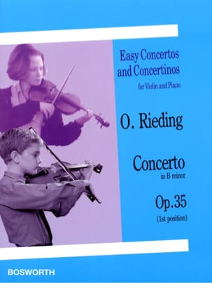 Oskar Rieding - Concerto op. 35 in B minor - Partition - di-arezzo.com