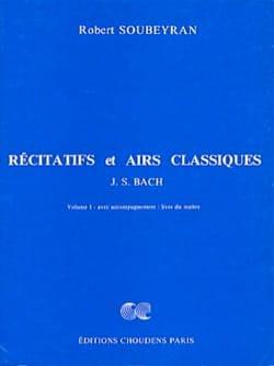 Récitatifs et airs classiques, Volume 1 - Maître laflutedepan