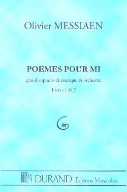 Poèmes pour Mi -Conducteur MESSIAEN Partition laflutedepan
