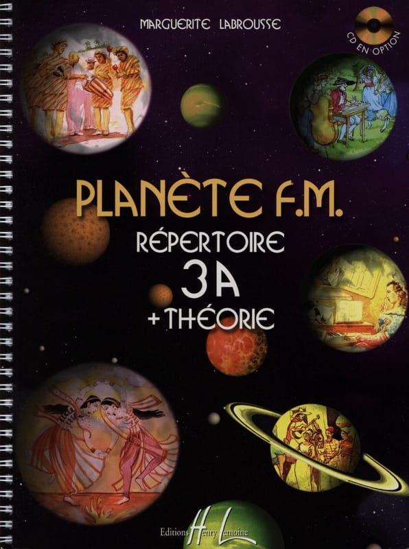 Planète FM 3A - Répertoire + Théorie - laflutedepan.com
