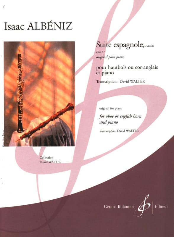 Suite Espagnole Op.47 Extraits - ALBENIZ - laflutedepan.com