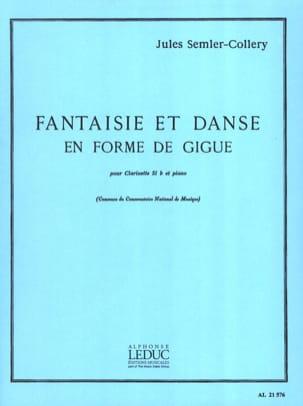 Fantaisie et danse en forme de gigue Jules Semler-Collery laflutedepan