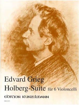 Holberg-Suite -6 Violoncelli GRIEG Partition laflutedepan