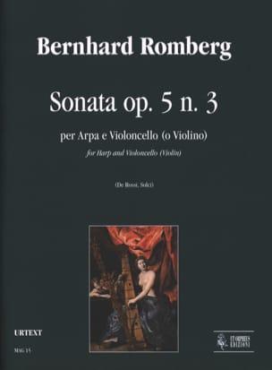 Sonata op. 5 n° 1 - arpa e violoncello o violino laflutedepan