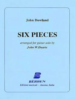 6 Pièces - DOWLAND - Partition - Guitare - laflutedepan.com
