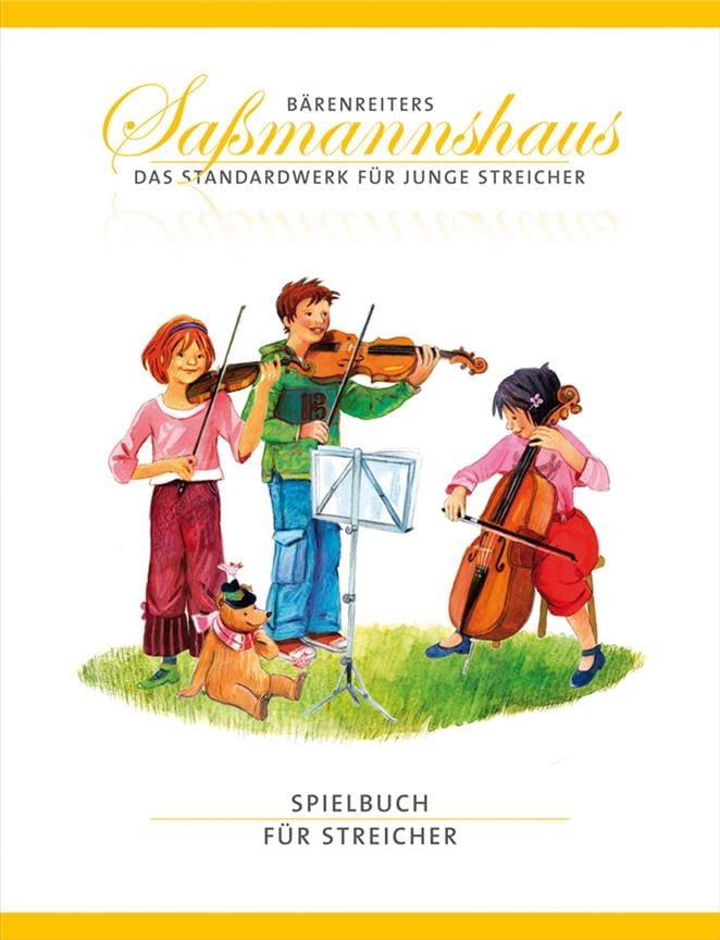 Spielbuch für Streicher - Egon Sassmannshause - laflutedepan.com