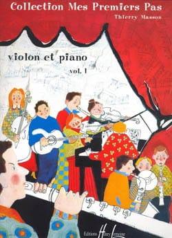 Mes premiers pas, Volume 1 - Violon Thierry Masson laflutedepan