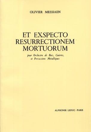 Et Exspecto Resurrectionem Mortuorum MESSIAEN Partition laflutedepan