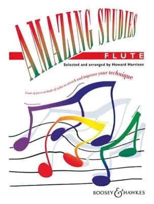 Amazing Studies - Flute Howard Harrison Partition laflutedepan