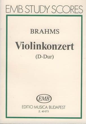Violinkonzert D-Dur op. 77 - Partitur - BRAHMS - laflutedepan.com