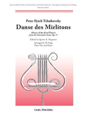 Danse des Mirlitons - 3 Flûtes-Piano TCHAIKOVSKY laflutedepan