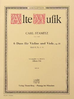 6 Duos für Violine und Viola op. 18 - Heft 2 n° 4-6 laflutedepan
