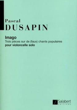 Imago Pascal Dusapin Partition Violoncelle - laflutedepan