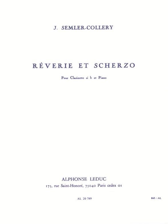 Rêverie et Scherzo - Jules Semler-Collery - laflutedepan.com