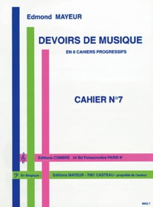 Devoirs de musique n° 7 - Edmond Mayeur - Partition - laflutedepan.com