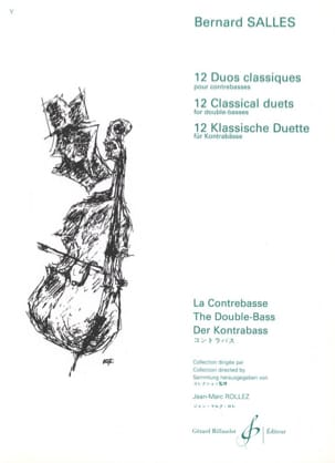 12 Duos classiques Bernard Salles Partition laflutedepan
