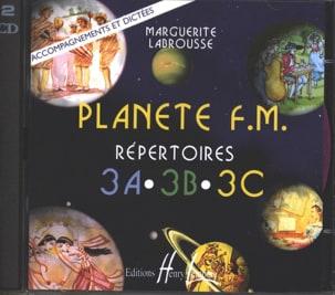 CD - Planète FM Volume 3 - Accompagnements/Dictées laflutedepan
