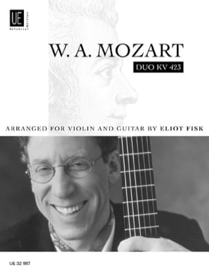Duo KV 423 - Violin Gitarre MOZART Partition 0 - laflutedepan