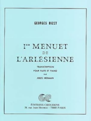 1er Menuet de L' Arlésienne - Flûte piano - BIZET - laflutedepan.com