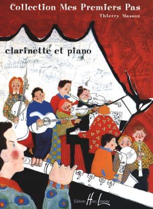 Mes premiers pas - Clarinette Thierry Masson Partition laflutedepan