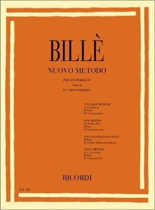 Nouvelle méthode de contrebasse, P. 2 / 4 Isaia Billè laflutedepan