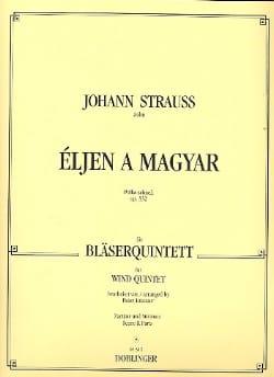 Eljen a Magyar op. 332 -Bläserquintett - Partitur + Stimmen laflutedepan
