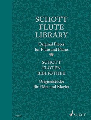 Schott Flute Library - Original pieces Partition laflutedepan